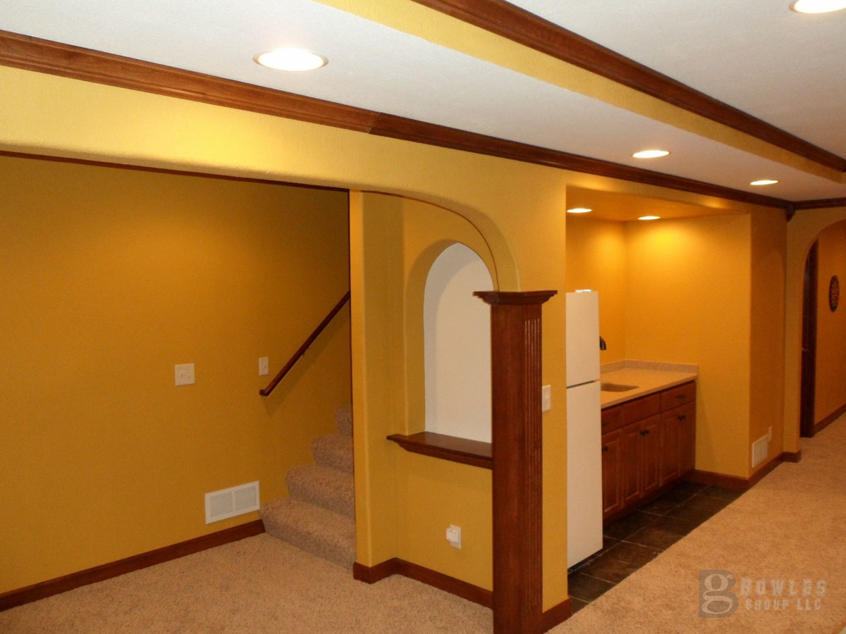 Basement finishing Contractor Ideas