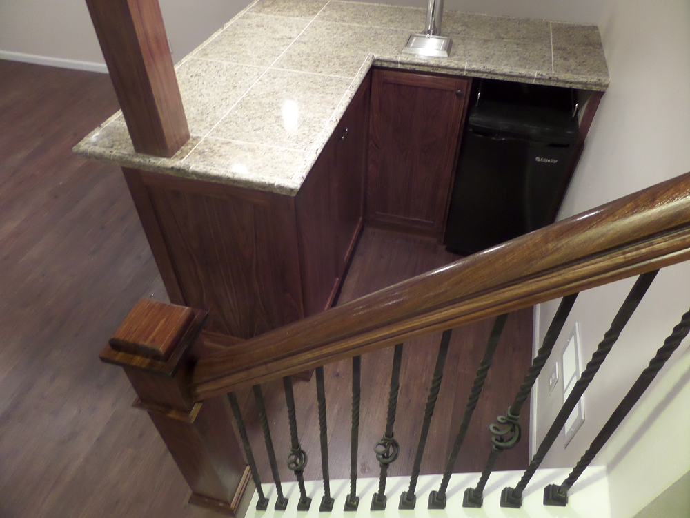 Basement Staircase Whitefish Bay, WI